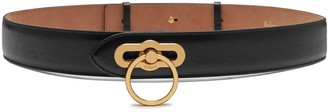 Mulberry Amberley Belt Black Silky Calf
