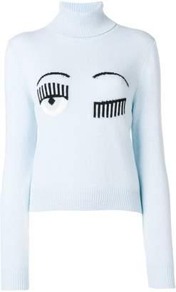 Chiara Ferragni Blinking Eye jumper