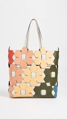 Zac Posen Eartha Hex Floral Tote Bag