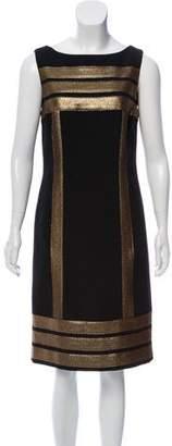 Tory Burch Wool-Blend Sheath Mini Dress
