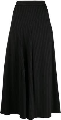 Steffen Schraut pinstripe skirt