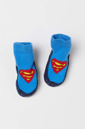 H&M Slipper Socks - Blue