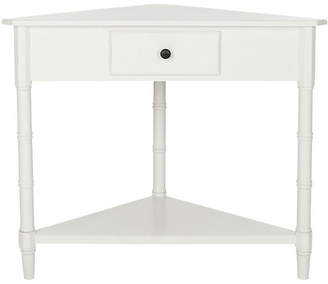 One Kings Lane Geneva Corner Table - White