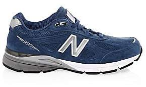 New Balance Men's 990 Made in USA Suede Running Sneakers