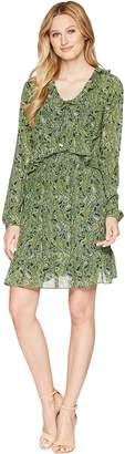MICHAEL Michael Kors Ruffle Smocked Mini Dress Women's Dress
