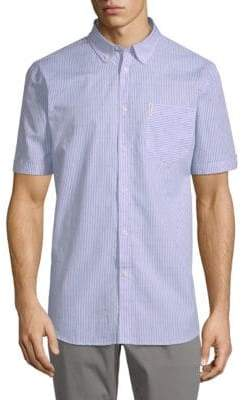 Ben Sherman Cotton Bengal Stripe Shirt