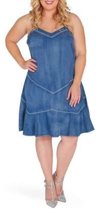 Standards & Practices Rosie Denim Tank Dress