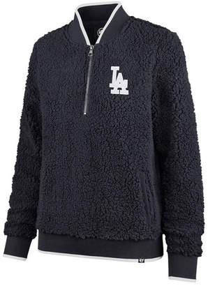 '47 Women's Los Angeles Dodgers Sherpa Quarter-Zip Pullover