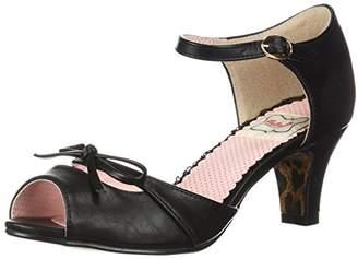 Bettie Page Women's BP250-Tegan Heeled Sandal