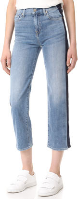 7 For All Mankind Kiki with Shadow Side Seams $219 thestylecure.com
