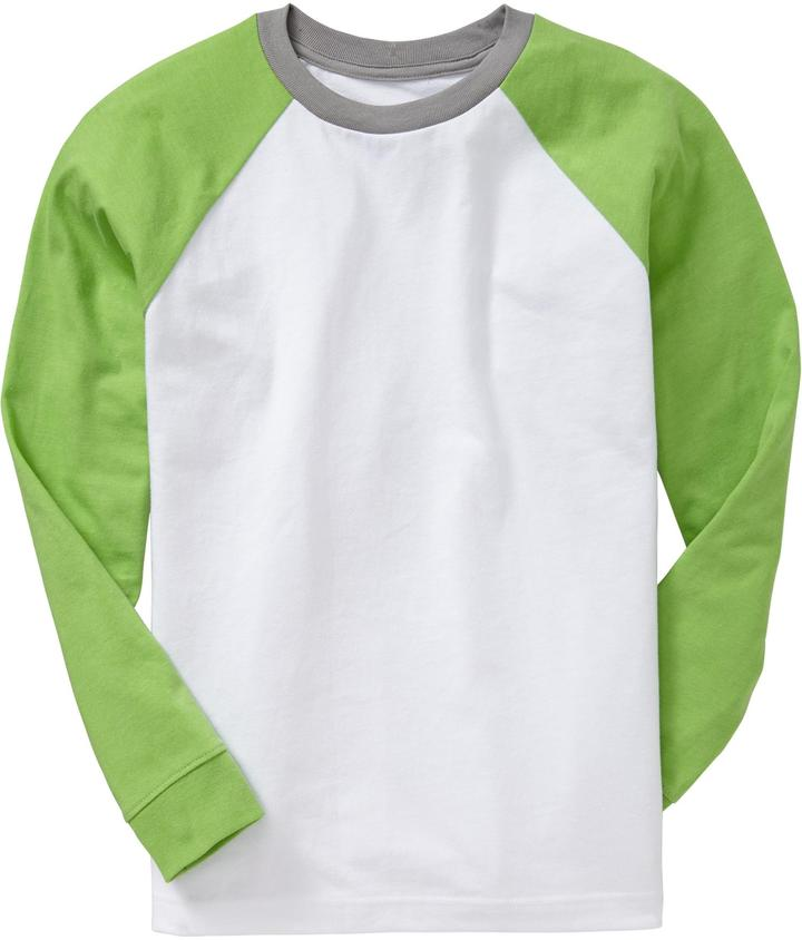 Old Navy Boys Color-Blocked Baseball Tees