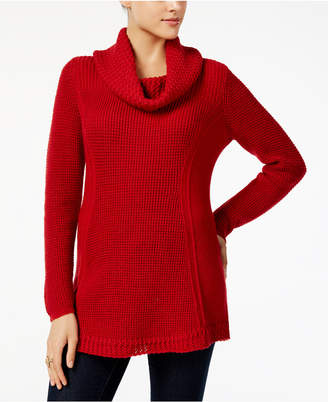Style&Co. Style & Co Petite Cowl-Neck Sweater