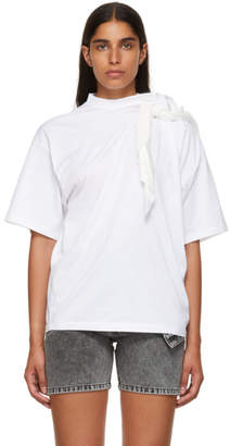 Y/Project White Scarf T-Shirt