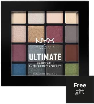 NYX Ultimate Shadow Palette Smokey & Highlight