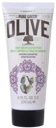 Korres Greek Olive Oil and Cactus Pear Body Cream
