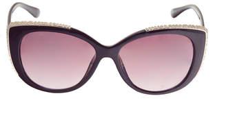Riviera Full Frame Cat Eye UV Protection Sunglasses-Womens