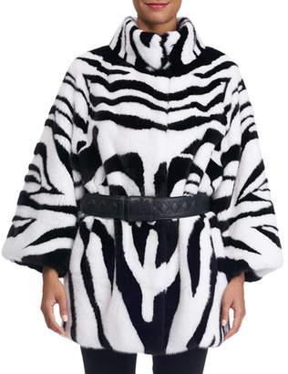 b8a1afadacd3 Womens Zebra Print Coat - ShopStyle