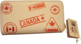 Synergy Full Sized Canadian Themed Leather Wallets