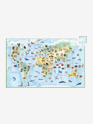 Vertbaudet 100-Piece Puzzle, Animals of the World, by DJECO