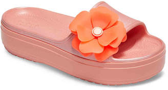 Crocs CB Vivid Blooms Platform Slide Sandal - Women's