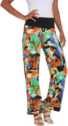 Women With Control Women with Control Tall Como Jersey Tummy Control Printed Pants