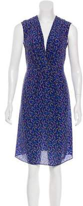 Cacharel Silk Pineapple Print Dress w/ Tags