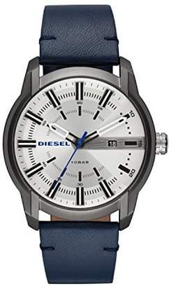 Diesel Mens Analogue Quartz Watch with Leather Strap DZ1866