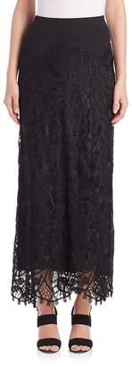 Donna Karan Women's Long Lace Skirt