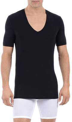 Tommy John Cool Cotton Deep V Neck Tee $40 thestylecure.com