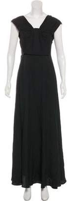 3.1 Phillip Lim Silk Evening Maxi Dress