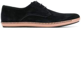 Bottega Veneta nero suede fellow shoe