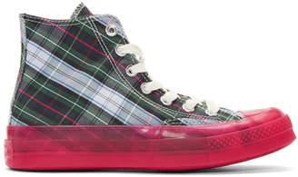 Converse Multicolor Papyrus Translucent Midsole Chuck 70 Hi Sneakers