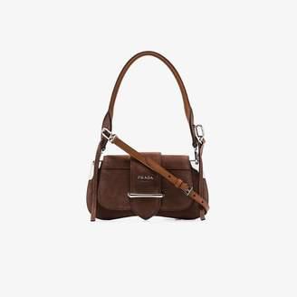 f0dd52b826 Prada Brown Shoulder Bags for Women - ShopStyle UK