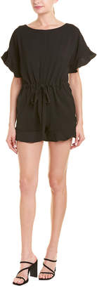 French Connection Tie-Waist Romper