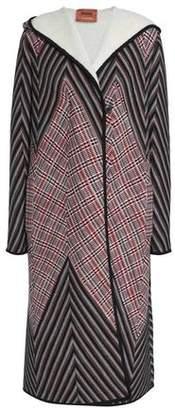 Missoni Crochet-Knit Wool-Blend Coat