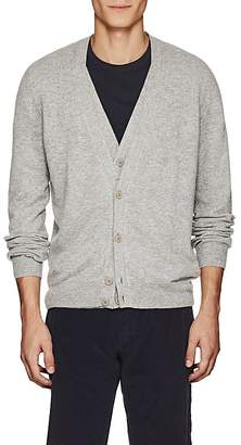 Tomas Maier MEN'S WOOL DOUBLE-LAYERED V-NECK CARDIGAN
