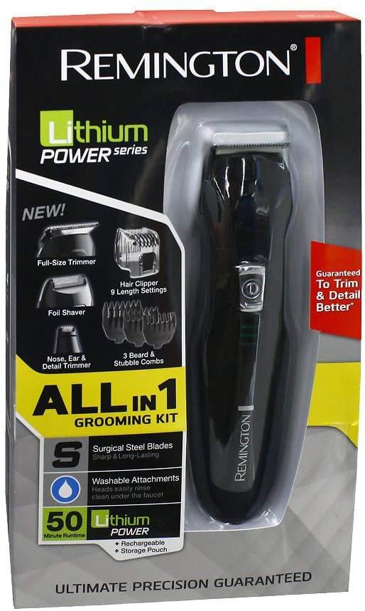 Remington Lithium Power Series: All in 1 Lithium Grooming Kit, Model PG6025
