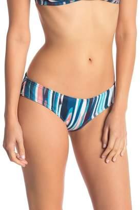 Vince Camuto Textured Stripe Bikini Bottoms