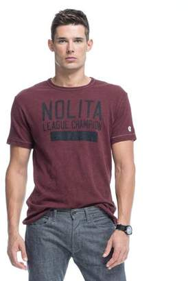 Todd Snyder + Champion Nolita Graphic T-Shirt in Merlot
