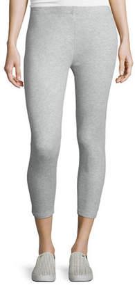 Joan Vass Stretch-Jersey Leggings, Plus Size