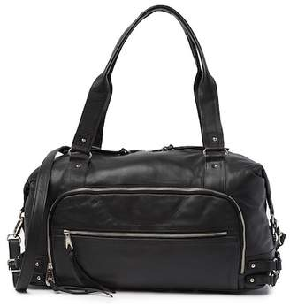 Joelle Gagnard Hawkens Coronado Leather Carryall Bag