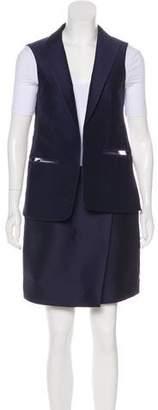 Salvatore Ferragamo Cutout Skirt Set