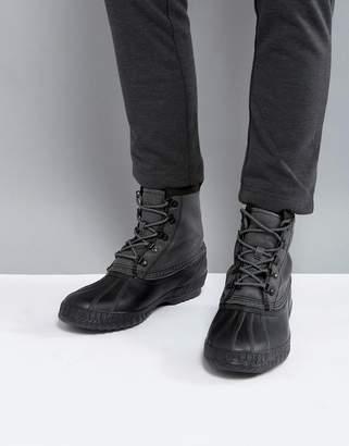 Sorel Cheyanne Canvas Waterproof Boots