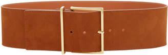 MAISON BOINET Exclusive Wide Nubuck Leather Waist Belt