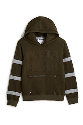 True Religion Toddler/Little Kids Embossed Hoodie