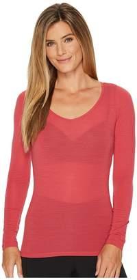 Icebreaker Siren Merino Long Sleeve Sweetheart Women's Clothing