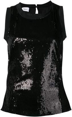 Dondup sequin sleeveless blouse