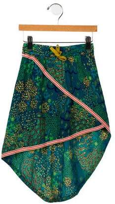 Scotch & Soda Girls' Asymmetrical High-Low Skirt