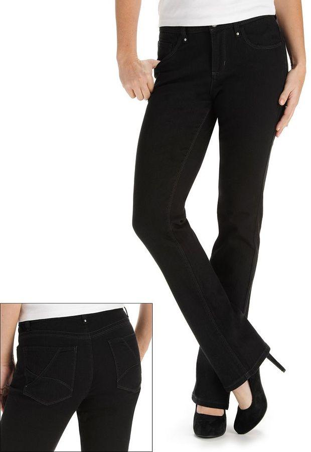 Lee aydan perfect fit straight-leg jeans