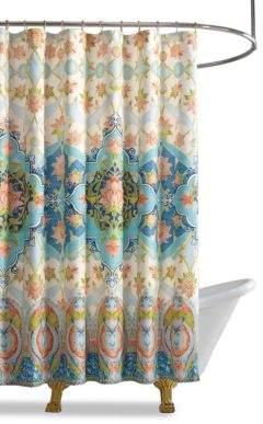 Jessica Simpson Aquarius Shower Curtain